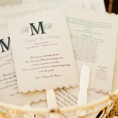 Wedding Reception Program Fans Ideas For 2019 Wedding Reception Program, Wedding Reception Design, Wedding Programs, Fan Programs, Wedding Ceremony, Reception Ideas, Wedding Fans, Gatsby Wedding, Wedding Events