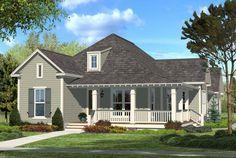 Narrow Lot Plan: 1,900 Square Feet, 3 Bedrooms, 2 Bathrooms - 041-00074