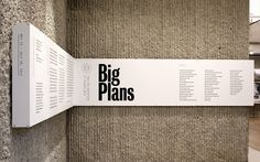 Big Plans - Jessica Svendsen - I think we should make a metal band like this around the kitchen corner for us to dry-erase our big plans onto.