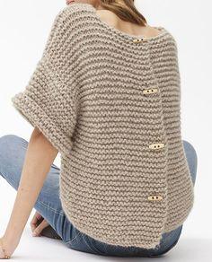 Crochet Jacket, Knitted Poncho, Crochet Cardigan, Knitted Hats, Knit Crochet, Sweater Knitting Patterns, Cardigan Pattern, Baby Knitting, Fall Fashion Outfits