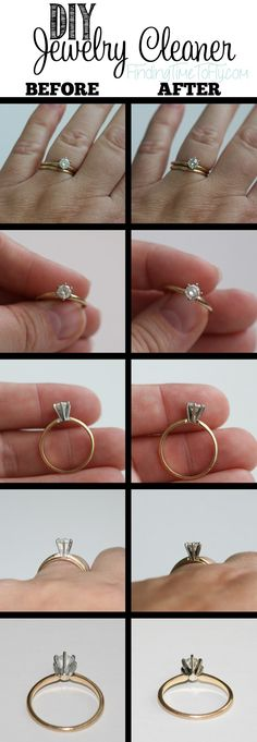 How to make your own jewelry cleaner i just tried this with my diy jewelry cleaner solutioingenieria Images