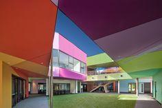 Interior Architecture Commendation - Ivanhoe Grammar Senior Years Centre by McBride Charles Ryan. Photo John Gollings.