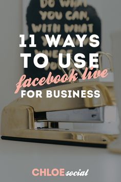 Here are 11 creative ways that your brand can use Facebook Live in your Social Media Marketing strategy.