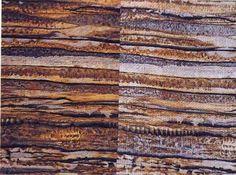❤ =^..^= ❤  Batik Beauties: right and wrong sides brown batik look-alike
