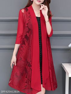 Patchwork Floral Cardigans Color: White Black Date_red Size: Xl Embellishment: Patchwork Material: Chiffon Occasion: Basic Casual Pakistani Dress Design, Pakistani Dresses, Stylish Dresses, Fashion Dresses, Fashion Clothes, Cheap Dresses, Vetement Fashion, Chiffon, Floral Cardigan