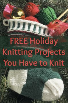 678aa2d36d5204 85 Best Christmas Knitting and Holiday Projects images