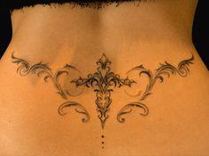 cross tribal tattoo design photo back symmetry tokyo tifanatattoo