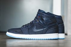 """Just in time for this year's Father's Day, Jordan Brand is releasing the Air Jordan 1 Retro High OG """"Family Forever."""" Paying homage to Michael Jordan and his family, the shoe features a navy upper in..."""