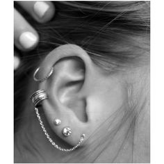 Polyvore / . ❤ liked on Polyvore featuring jewelry, earrings, piercings, accessories, tattoos, earring jewelry, tattoo jewelry and tattoo earrings