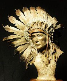 "Bronze by Stephen Jones Western & Wildlife Art "" Badges of Honor """
