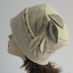 Items similar to Winter Small Size Hat White Cloche Hat Felt Womens Hat for Winter Handmade Chapeau Riding Hat Autumn Winter Fall Fashion Brandy Retro Hats . on Etsy Fall Hats, Winter Hats, Diy Fashion, Fashion Hats, Fashion Spring, Fashion Trends, Fashion Sandals, Fashion Black, Fashion Men