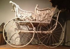 Beautiful Antique Baby Carriage