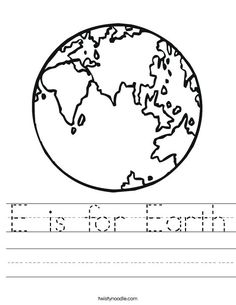 Create A Character Worksheet Paper  Cardboard Worksheet  Twisty Noodle  Earthday Crafts  Classify Triangles By Sides And Angles Worksheet Pdf with Worksheet Electron Distributions Pdf E Is For Earth Worksheet Lots Of Worksheets Word Contractions Worksheets Word
