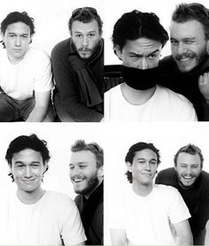 Joseph Gordon-Levitt and Heath Ledger.