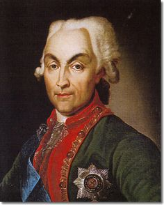 """prince Nikolai Vasilyevich Repnin (*1734 St.Petersburg+1801) Imperial Russian statesman+general who played a key role in the dissolution of the Polish-Lithuanian Commonwealth.Served in the Imperial Army under his father, Prince Vasily Anikitovich Repnin(son of fieldmarshal princ Anikita) during the Rhenish campaign of 1748, and subsequently resided for some time abroad, where he acquired """"a thoroughly sound German education."""" He also participated, in a subordinate capacity, in the Seven…"""