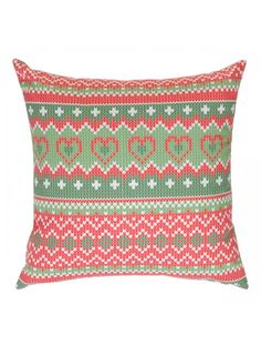 """Includes 2 throw pillows. Cover Material: Polyester/Polyester blend. Fill Material: Polyester/Polyfill. Luxury polyester insert. Number of Items Included: 2. Washing Method: Machine wash. Overall: 18"""" H x 18"""" W x 2"""" D. Overall Product Weight: 2 lbs."""