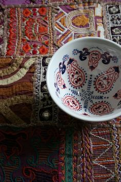 beautiful bohemian decor | ... beautiful Scandinavian-looking tea cup from Anthropologie. #bohemian #