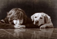 This would be cute on a mirror! Man's Best Friend: Heartwarming Pet and People Photography