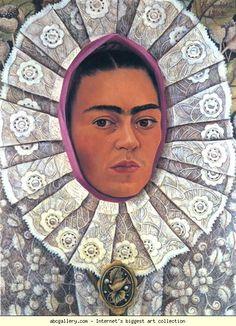 Frida Kahlo Self-Portrait with tehuana headdress, 1948