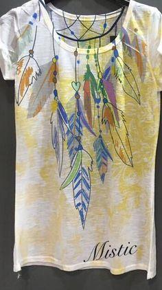 Camisetas , plumas