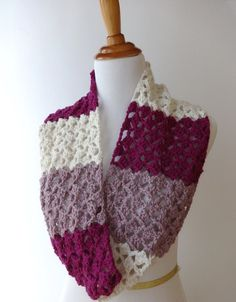 Top 10 Beautiful Free Crochet Scarf Patterns - Page 2 of 10 - Top Inspired