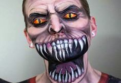 16 Awesome Face Paint Creations By Elsa Rhae Pageler