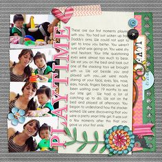 Using mle Card's Big Sister and my Artsy Journal Templates.