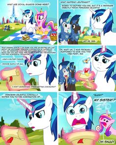 ☑ Confusing letters, ☐ Talk with sandwich, ☐ Sibling song, ☐ Sweet revenge achieved. A mare never forgives My Little Pony Comic, My Little Pony Pictures, Fnaf, Princess Cadence, Princess Celestia, Mlp Memes, Mlp Comics, Little Poney, Mlp Pony