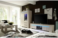 Meuble TV design Livia 191 cm