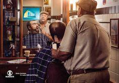 5/5 TV Globo Nordeste crea una serie de gráficas para promocionar lo imposible que es quitarle la mirada a su programa. La #solucion fue representar escenas de la vida donde se busca quitar las distracciones.