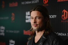 NEW YORK, NY - NOVEMBER 26:  Actor Brad Pitt attends The Cinema Society with Men's Health and DeLeon hosted screening of The Weinstein Company's 'Killing Them Softly' on November 26, 2012 in New York City.  (Photo by Stephen Lovekin/Getty Images) via @AOL_Lifestyle Read more: http://www.aol.com/article/2016/10/13/brad-pitt-sees-his-children-for-the-first-time-since-angelina-jo/21582388/?a_dgi=aolshare_pinterest#fullscreen
