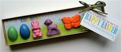 Handmade Easter crayons on Etsy