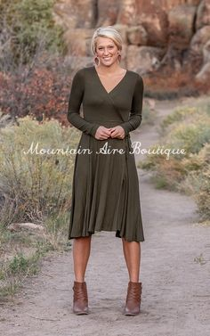 The Lacey – Mountain Aire Boutique Green Sweater Dress, Best Wear, Wrap Style, Boutique Clothing, Midi Skirt, Comfy, Skirts, Sweaters, How To Wear