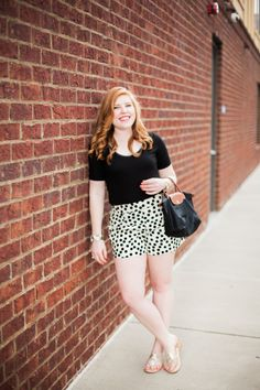 Polka Dotted Shorts - Sprinkle of Glam