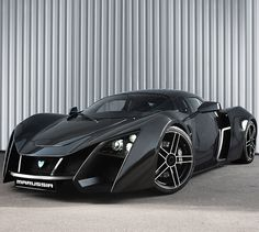 The First Russian Supercar Marussia B2