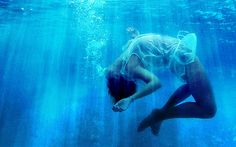 Gorgeous #underwater shot - model looks blessed out
