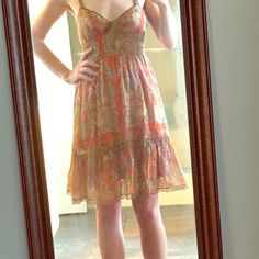 Free People Paisley Dress Gently worn. Great condition. Free People Dresses