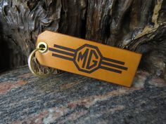 Key ring MG Key chain DOUBLE Sided MGBGT Magnet sports car leather keyring 352 Leather Keyring, Motorcycle Leather, Split Ring, Natural Leather, Cowhide Leather, Italian Leather, Key Rings, Key Chain, Trucks