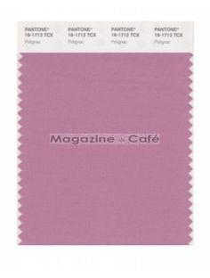 Pantone Smart 16-1712 TCX Color Swatch Card, Polignac