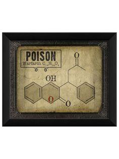 Poison Molecule by Artwork Enclosed