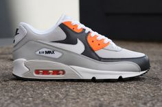 Nike Sportswear Air Max 90 Anthracite/Yellow & Grey/White/Total Orange  ... No Nike season is complete without a few Air Max ...