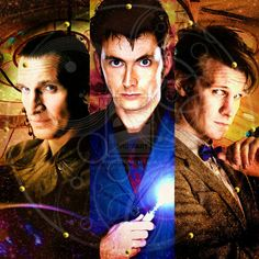 Dr. Who  (Christopher Eccleston, David Tennant, Matt Smith) you can not just regenerate every time I fall in love with you!!!!!!!! I'm so upset!!