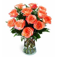 Orange roses are symbols of positivity and hope and when bunched by a dozen with seasonal greens, they can change the mood of the recipient in a blink.