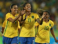 Futebol é pra mulher