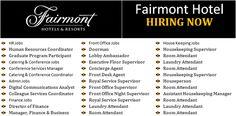 Latest Jobs in Fairmont Hotel & Resorts Cabin Crew Salary, Cabin Crew Jobs, City Jobs, Jobs Uk, Cabin Crew Recruitment, Self Employed Jobs, Oil Rig Jobs, Admin Jobs