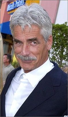 """Sam Elliot: Butch Cassidy and the sundance Kid (card Player #2), The Sacketts (Tell Sackett), The Shadow Riders (Dal Traven), The Quick and the Dead (Con Vallian), Road House (Wade Garrett), Tombstone (Virgil Earp), Buffalo Girls (Wild Bill Hickock), Hulk (General Thaddeus E. """"Thunderbolt"""" Ross), Barnyard (Ben the cow), Ghost Rider (The Caretaker / Carter Slade), The Golden Compass (Lee Scoresby)."""