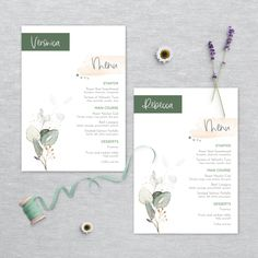 Menu Template, Templates, Wedding Stationery, Wedding Invitations, Printable Menu, Menu Cards, Wedding Menu, Watercolor Wedding, Printing Services