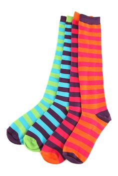 I love striped socks ♥