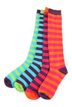 I love striped socks ♥