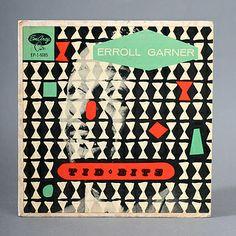 graphic scrim  Erroll Garnier Tid Bits Record Cover circa 1954 by Javier Garcia Design, via Flickr